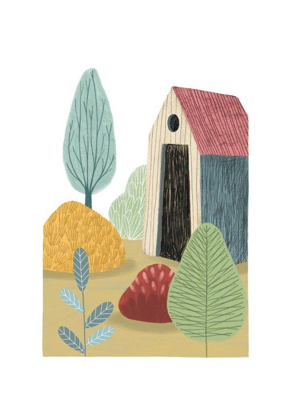 La cabane de jardin