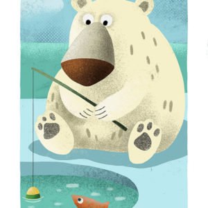 l'ours pêcheur