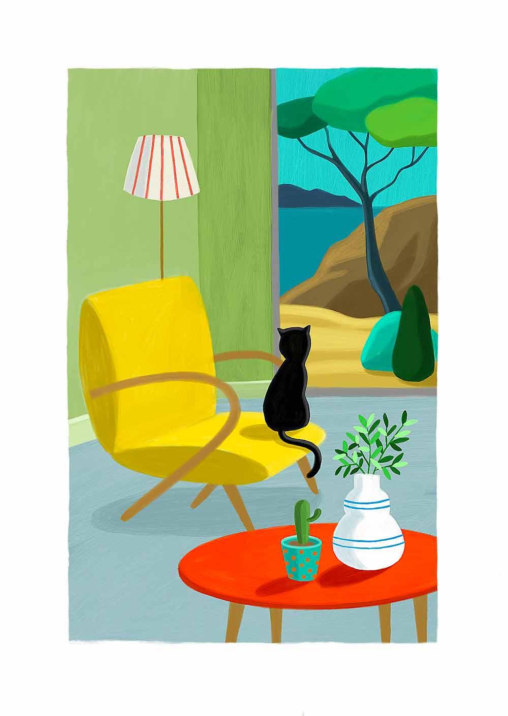 Carte postale 2020 9 - Tirages d art - Illustration